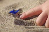 Kum oyunları — Stok fotoğraf