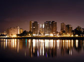 Vancouver at night — Stock Photo