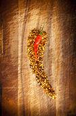 Red Hot Chilli Concept — Stock Photo