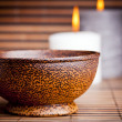 Royalty-Free Stock Photo: Exotic Bowl and Candles