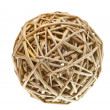 Woven Wicker Balls — Stock Photo #7692405