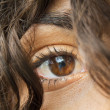 Beautiful woman's eye — Stock Photo