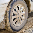 Stock Photo: Muddy Wheel