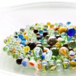 Stock Photo: Bowl of Marbles