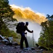 Amazing Hiking - Stock Photo