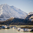 Stock Photo: Glacial Mountains