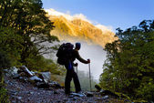 Amazing Hiking — Stock Photo