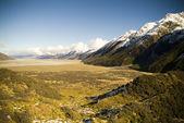 Glacial Mountains — Stock Photo