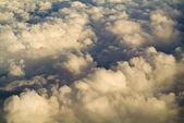 Nuvens douradas — Foto Stock