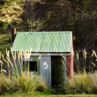 Stock Photo: Tin Hut