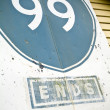 Route 99 Sign — Stock Photo