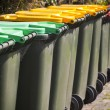 Wheelie Bins - Stock Photo