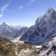 Snow capped peaks in the Himalaya, Nepal. — Stock Photo #7708974