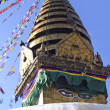 Bodhnath (Boudha) stupa - Stock Photo