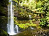 Russel Falls, Tasmania — Stock Photo