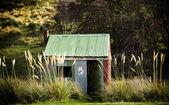 Tin hut — Stockfoto