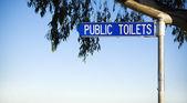 Public Toilets — Stock Photo