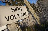 高電圧 — ストック写真