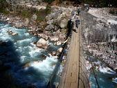 Brücke kreuzung — Stockfoto
