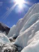 Ice and Sun — Stock Photo