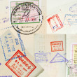 Passport Stamps Background — Stock Photo #7833160