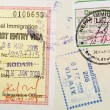 Passport Stamps Background — Stock Photo #7833239