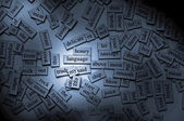 Magnetic Words — Stock Photo