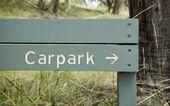 Carpark Sign — Stock Photo