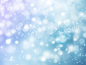 Blue and white sparkles — Stock Photo