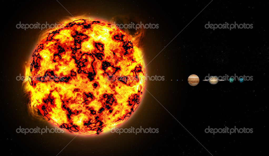 solar system relative distances in - photo #44