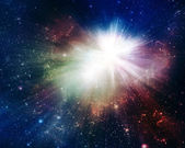 Colorful Supernova Explosion — Stock Photo