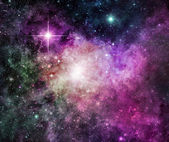 Purple Nebula — Foto Stock