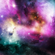 Purple Nebula - Stock Photo