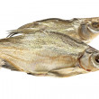 Stock Photo: Two dried fishes