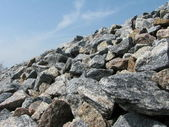 Crushed stones — Stock Photo