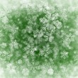 Winter background with fnowflakes - Stock Photo
