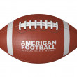 American football ball — Stock Photo #7928720