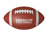 American football ball — Stock Photo