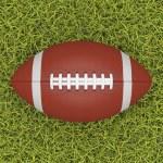 American football ball — Stock Photo