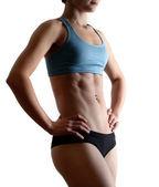 Cuerpo de mujer aeróbico — Foto de Stock