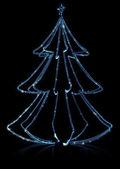 árbol de navidad de diamantes — Foto de Stock