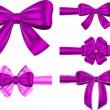 Multifunktionsleiste-Violet Geschenk-set — Stockvektor