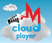Cloud player conceito ilustração — Vetorial Stock