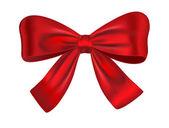 Bow cadeau rouge — Vecteur
