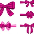 Постер, плакат: Violet gift ribbon set