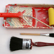 Painting and decorating tools. — Foto Stock