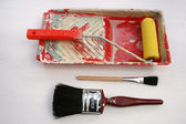 Painting and decorating tools. — Stock Photo