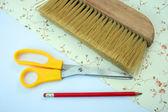 Wallpapering tools — Stock Photo
