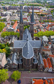 Delft Oude Kerk — Stock Photo