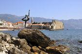 Budva Old Town Montenegro — Stock Photo